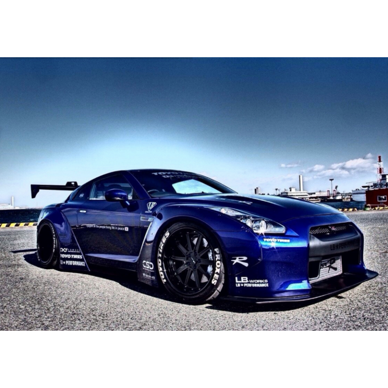 breitbau bodykit liberty walk nissan gt r. Black Bedroom Furniture Sets. Home Design Ideas