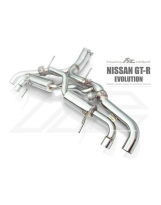 Auspuffanlage von FI Exhaust für Nissan GT-R (Evolution)