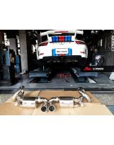 Auspuffanlage von FI Exhaust für Porsche 911 GT3 Typ 991