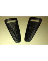 Nissan GT-R Lufteinlässe für Motorhaube Carbon
