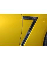 Nissan GT-R Emblemhalter Kotflügel Carbon