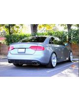 Heckansatz aus Carbon für Audi S4 B8 vor-facelift