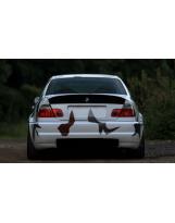Heckspoiler aus Carbon für BMW E46 Coupé