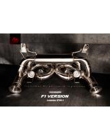 Auspuffanlage von FI Exhaust für Lamborghini Aventador F1 Version