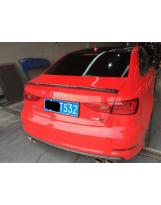 Heckspoilerlippe aus Carbon Audi A3 8V Limousine