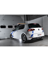 Klappenauspuffanlage von Milltek für VW Golf VII R