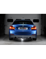 Auspuffanlage von Milltek für den BMW M235i Coupé F22