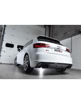 Klappenauspuffanlage von Milltek für Audi S3 8V