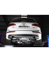 Auspuffanlage von Milltek für Audi Q5 2.0TFSI