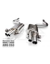 Auspuffanlage FI Mercedes-Benz C63 AMG W205