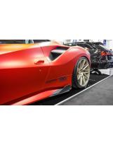 Ferrari 488 Seitenfinnen Vollcarbon
